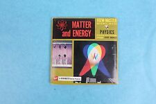 VINTAGE VIEW-MASTER 3D REEL PACKET B682 MATTER AND ENERGY COMPLETE