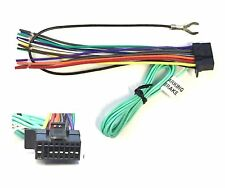 Car Stereo Radio Replacement Wire Harness Plug for select Sony 16 Pin DVD Radios