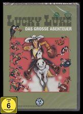 DVD LUCKY LUKE - DAS GROSSE ABENTEUER - TRICKFILM FÜR KINDER - alte FSK * NEU *