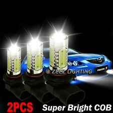High Power LED Hi-Beam Daytime Running Light DRL COB Bulb HID White H11 H9 H8#2