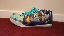 NIKE Kobe 9 IX Pop Art Purple Grey Mango Blue SIZE 13
