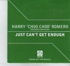 (DI795) Harry Choo Choo Romero, Just Can't Get Enough - 1999 DJ CD