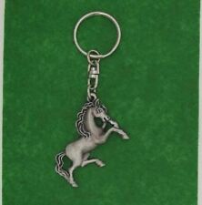English PewterHandcrafted  Prancing Horse Keyring  NEW Made in UK  20781