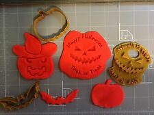 Halloween Scary Cookie Cutters (set)