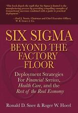 Six Sigma Beyond the Factory Floor: Deployment Strategies for Financial Services