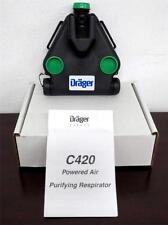 New Drager C420 PAPR Air Purifying Respirator 4056916 scott msa sbca safety