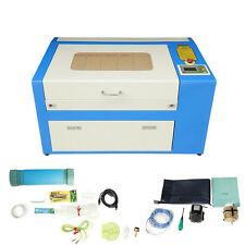 50W CO2 Laser Engraving Cutting Machine Engraver Cutter