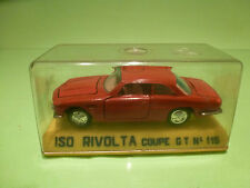 JOAL 115 ISO RIVOLTA COUPE GT - RED 1:43 - RARE SELTEN - EXCELLENT IN BOX