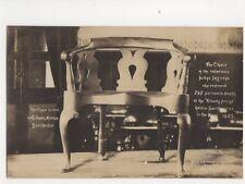Judge Jeffreys Chair Dorchester County Museum Vintage RP Postcard 132b