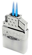 Top-Z Blazer Dual Torch Flame Butane Lighter Insert fits Standard Lighter Cases