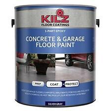 KILZ 1-Part Epoxy Acrylic Interior/Exterior Concrete & Garage Floor Paint, New