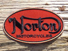 ECUSSON PATCH THERMOCOLLANT aufnaher toppa NORTON automobile moto sport motard