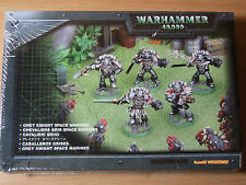 BNIB SEALED METAL GREY KNIGHT SPACE MARINES