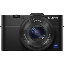 Sony Cyber-shot DSC-RX100 Mark II 20.2-Megapixel Digital Camera In Black! New!