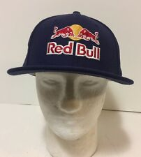 Red Bull Athlete Only New Era Fitted 7 1/2  Hat Extremely RARE!