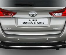Toyota AURIS II Touring Sports 12-16 - CHROME Rear Trim Strip Trunk Boot Tuning
