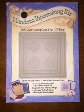 HANDCAST PAPERMAKING KIT (AI) New In Open Box