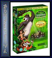 THE JUNGLE BOOK - COMPLETE 1 & 2 DOUBLE PACK  **BRAND NEW DVD BOXSET **