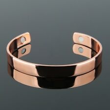 Pure Copper Health Care Magnetic Therapy Cuff Bracelet For Arthritis Men Women