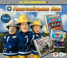 FEUERWEHRMANN SAM - FEUERWEHRMANN SAM-HÖRSPIEL BOX 2 3 CD NEU