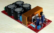 IRS2092 Class D amplifier board finished