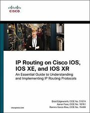 IP ROUTING ON CISCO IOS, IOS - AARON FOSS, ET AL. BRAD EDGEWORTH (PAPERBACK) NEW