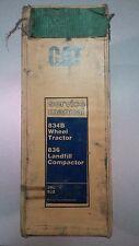 Caterpillar 834B Wheel Tractor & 836 Compactor, Service Manual, Cat S/N# 3RL 92Z