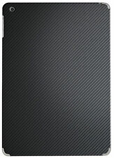 Hellfire Trading Black Carbon Fibre Vinyl Back Sticker Wrap for iPad 5 Air