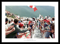 Miguel Indurain 1996 Tour de France Cycling Photo Memorabilia (985)