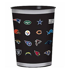 NFL All Teams REUSABLE KEEPSAKE CUPS (2) ~ Birthday Party Supplies Favors Sports