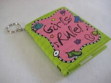 NEW GIRLS RULE INSPIRATIONAL BOOK WITH KEY CHAIN