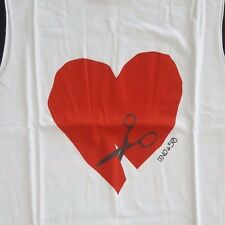 Uno de 50 Cute T- Shirt Tank Top Heart and Journal Notebook - NEW!