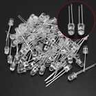 100pcs 5mm 940nm IR Infrared Emission Tube Diode LED Lamp High Power Emitting
