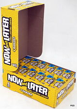 Now and Later Banana Chews 6 Piece 24 Count Bars Candies Chewy Candy Bulk