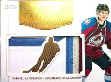 wOw! 2x MAMMOTH /25 GABRIEL LANDESKOG DOMINION JERSEY PRIME + PATCH 2011 11 12