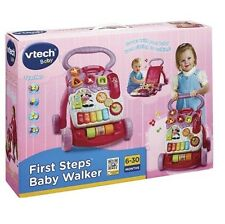 Vtech First Steps Baby Walker with Detachable Play Learning Centre Activity Toy