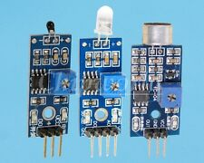 Photodiode Thermistor Sound Detection Sensor Kit for arduino 3 in 1 kit