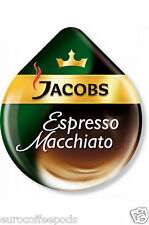 24 x Tassimo Jacobs Espresso Macchiato Coffee T-disc (Sold Loose) (12 Servings)