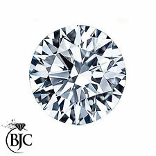 LOOSE 1.01 Ct Naturale rotondo brillante taglio diamante K-i3 6,30 mm di diametro