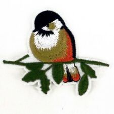 Bird Embroidered patch Sew or Iron on cloth badge P31