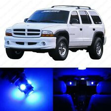 7 x Ultra Blue LED Interior Light Package For 1998 - 2003 Dodge Durango