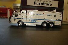 CODE 3 NYPD  KITBASH  E-ONE  RESCUE UNIT 1/64 SCALE