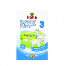 Holle Organic Goat Milk Stage 3 (4 boxes x 400g) FAST SHIPPING. Expires 04/2018