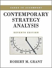 NEW Cases to Accompany Contemporary Strategy Analysis by Robert M. Grant