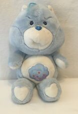 """Vintage Care Bears Kenner Grumpy Bear Blue 13"""" 1983 American Greetings Cloud"""