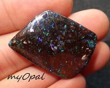 +++ GEM Koroit Boulder Opal - wunderschöner Matrix Opal Sternenhimmel ! VIDEO