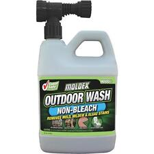 Moldex 64 Oz Outdoor Brick Cement Stucco Hose Wash Mold Stain Remover 5330