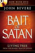 The Bait of Satan Living Free from the Deadly Trap John Bevere 2010 W/ DVD