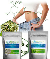 GREEN Coffee Bean CAPSULE + trimethylxanthine Belly Bruciagrassi Perdita Peso Pillole