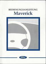 FORD MAVERICK 2 Betriebsanleitung 2002 2003 Bedienungsanleitung Handbuch BA